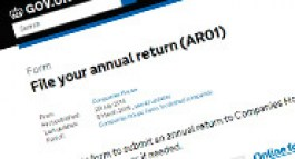 Annual Return Service